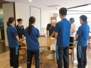 近畿社会福祉専門学校・関西社会福祉専門学校の実習生