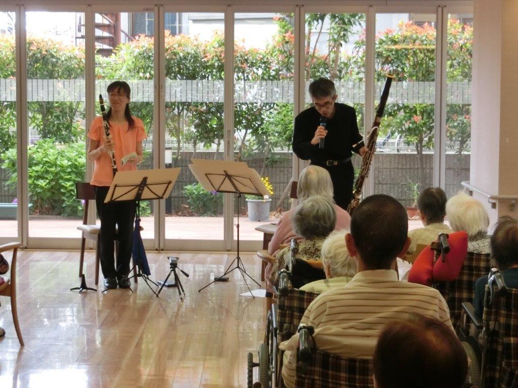 木管楽器コンサート開催!!