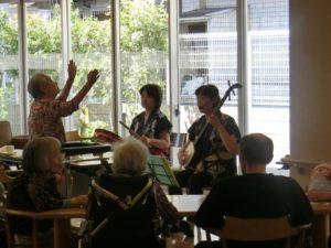 音楽喫茶コンサート開催しました